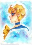 Watercolour Haruka by unconventionalsenshi