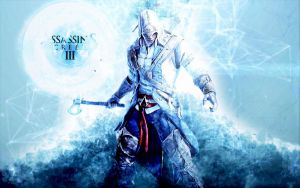 Assassins creed 3 : Connor in animus by Vladisakov