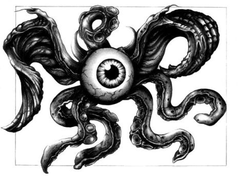 One Eyed Tentacle Beast Fin by Scpaps