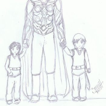 Father and Sons by thepatronsaintx