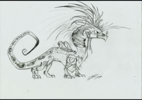 Aztecan Dragon by soso0197