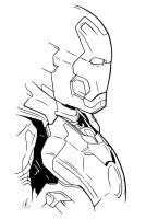 Ironman - Suit Up by LRitchieART