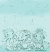 Hippies in the Rain by Ask-MusicPrincess3rd