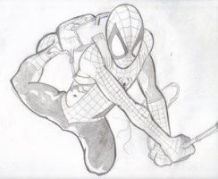 Ultimate Spiderman by Kingping101