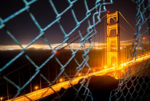 Night escape | San Francisco by alierturk