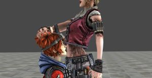 Gaige licking Janey belly (test #2) by asdfguy45623
