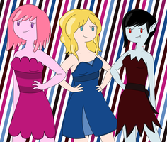 The Women of Adventure Time by AlwaysForeverHailey