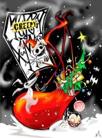 JACK SKELLINGTON: SANDY CLAWS by favius
