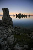 Tufa at Sunset by rivaraftin1977