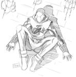 Christmas sketch: Scarlet spider by Shono