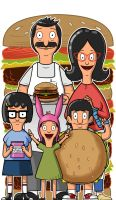 Bob's Burgers by Thuddleston