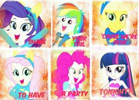 Shake your tail-My Little Pony Equestria Girls by TicciElly38