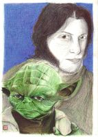 Morto and  Master Yoda by rikinhukuma