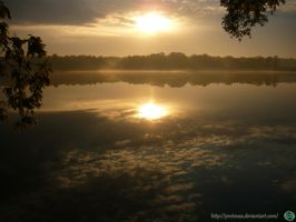 Golden Sunset  3 Tychy by Proteusz