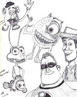 A Pixar Point of View by LAReal