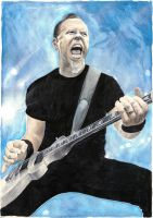 James Hetfield by Drimr