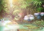 Pokemon Rainforest by Enigmasystem