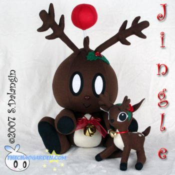 Jingle the Chao Plushie by BriteWingz