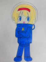 Alice in spacesuit by Nekomi4