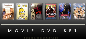 Movie DVD Icons 11 by manueek