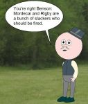 Regular Show: Things they'd never say-Pops by YRT9401
