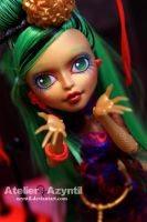 Monster High: Golden Dragon Jinafire Long by Azyntil
