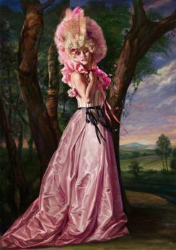 Miss Constance Peach by wrightair