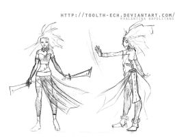Ena / design . by toolth-ech