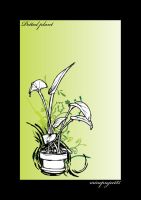 Potted Plant by maybeimnotexist