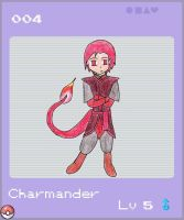 Charmander Male by Nightwind-Dragon