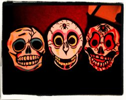 Halloween Masks! by XBlackFerretX