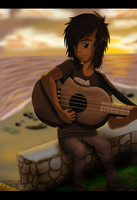 Sunset's Melody by 3rd-world-image