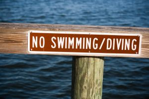 No Diving by richardxthripp
