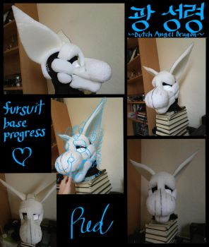 Kwang SungRyeong fursuit progress by AttractiveWing
