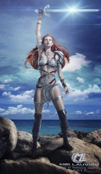 Red Sonja by MLauviah