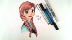 Anna Colored by angelaaasketches