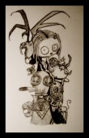 lenore and friends by dark-muffin