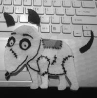 sewing sparky - handmade by anjaPL