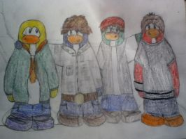 Request: Penguin Band by oldpbfan21