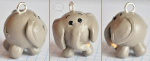 clay elephant by cihutka123