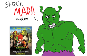 Hulk Shrek Hates Shrek Forever After by The-Happy-Apple