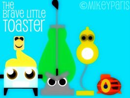 the Little Brave Toaster by MIKEYCPARISII