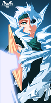 Bleach 553 - Frozen Cross - Hitsugaya Color by VastoLord3