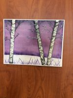 Birch Tree Painting by TorturousDreams