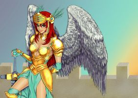 Valkyrie by lechatelier by carol-colors