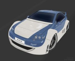 The tuned car by alexdesigns