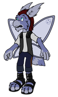Enigma the Moth by hunterbahamut