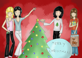 Merry Christmas... by Fairy-of-the-valley