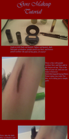 Gore Makeup tutorial by Nyx-Aeterna