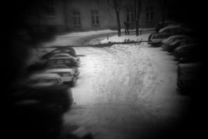 cold way to the school by qxoo